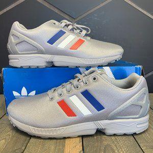 didas ZX Flux Grey USA Stripe Sneaker (MS)